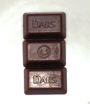 「ダース」チョコの顔マーク