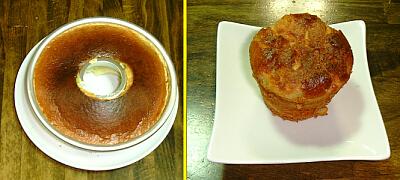 ダチョウシフォンケーキ