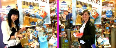 チョコはいっぱい買いましたよ!