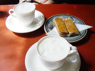 可否館 コーヒーとクッキー