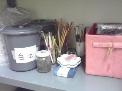 ACT教室 道具棚