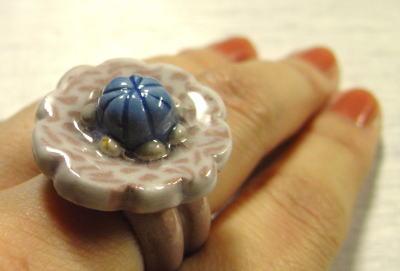 陶の指輪1