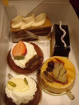 サンルイ島のケーキ