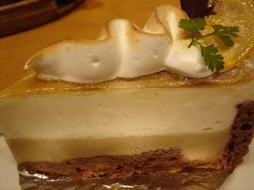 キャラメルのケーキ