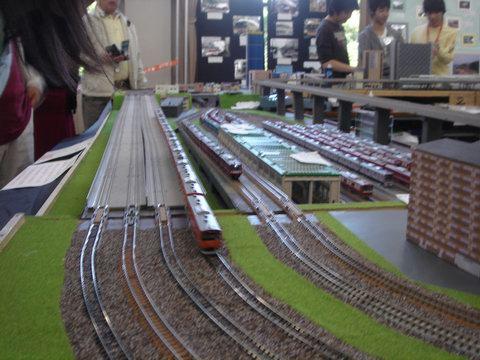 鉄道ジオラマ