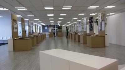 2013アジア建築新人戦の会場設営