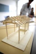 建築模型制作【伝統建築学科】