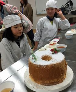 プレデントのシフォンケーキ
