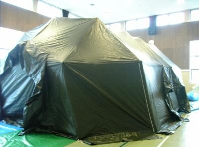 防災テント外観