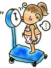 体重計・・・