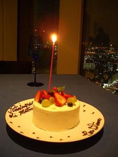 1周年ウェディングケーキ