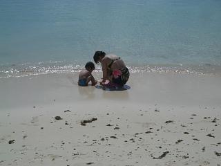 ウェスティンのビーチ
