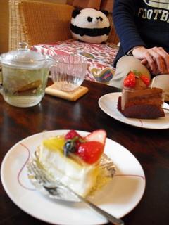 クラフト教室ケーキ