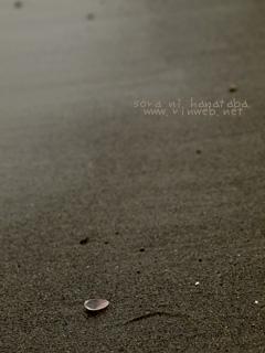 海でフタリでタソガレました。