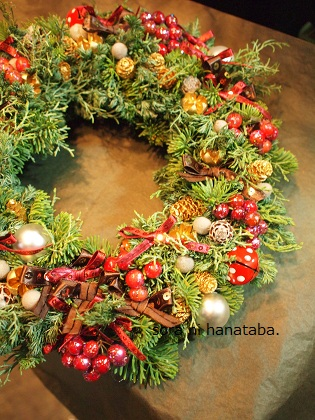 今年第2号のクリスマスリース