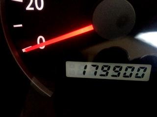 空花号、2012年7月13日、179000キロ、6年目。