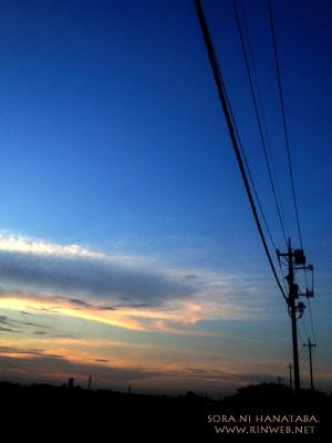 2012年8月2日の空。