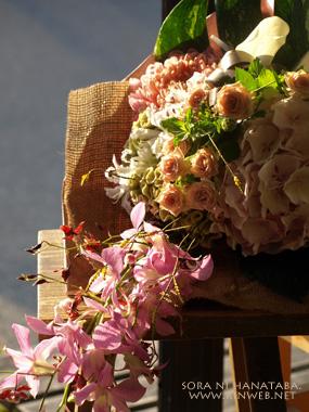 誕生日おめでとうの花束@柏市大井へお届け