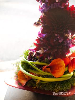 パシフィコ横浜へお届けの楽屋花