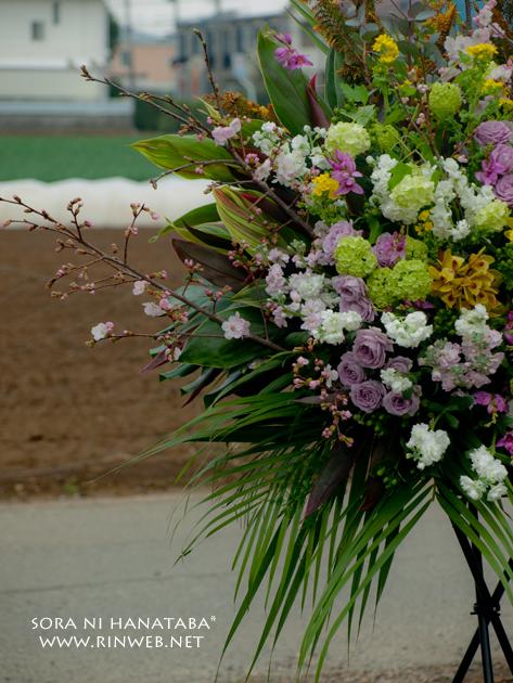 アミュゼ柏へお届けのスタンド花