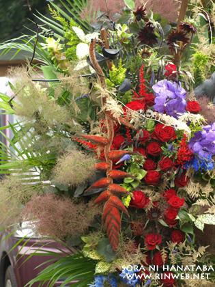 舞浜アンフィシアターへお届けのスタンド花