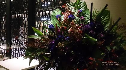 大手町タワー「OOTEMORI」にオープン(HAL YAMASHITA)さんへお届けのスタンド花