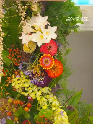 日本武道館へお届けのお祝いスタンド花