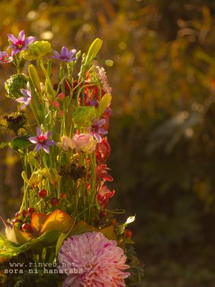 岐阜県内へお届けのお祝い花@新築祝い花