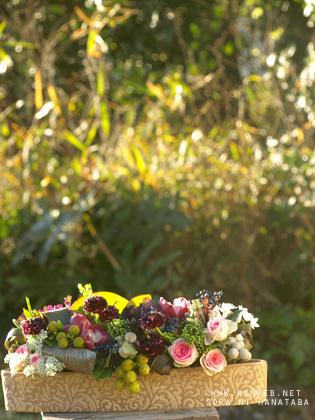 1年ありがとうの花@柏市内へお届け/年末のありがとうの花