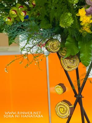 スタンド花@舞浜アンフィシアターhrお届けのライブ開催お祝いスタンド花