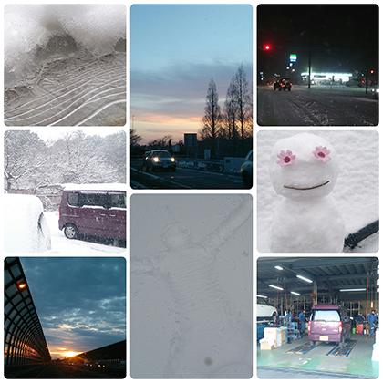 雪の日とチカゴロ。
