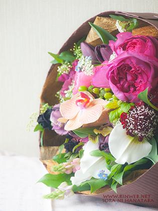 ありがとうの花束を@八千代市へお届け