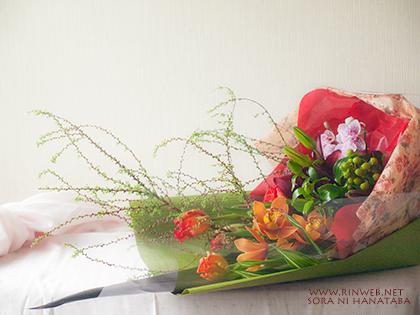 ありがとうの花束をお届け@柏市
