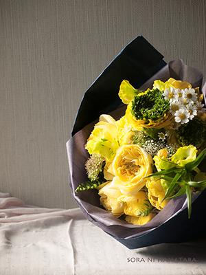 おめでとうの花束(柏市内へお届けの花束)