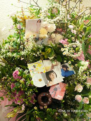 日本青年館へお届けの特注スタンド花