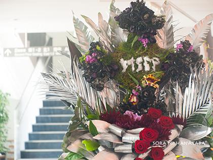 渋谷公会堂へお届けの特注スタンド花