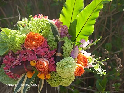 ネイルサロン開店御祝い花