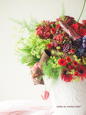 母へ贈るおめでとう、ありがとうの花