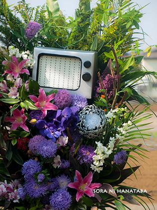 埼玉スーパーアリーナへお届けの特注スタンド花