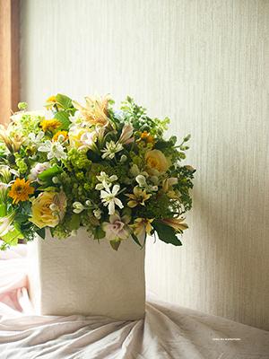 おめでとう!の花を。