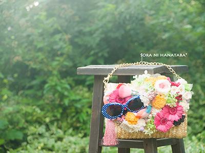お誕生日お祝い花(モデルさんへ贈られます花を)都内へお届け