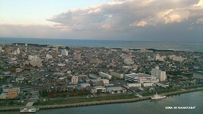 新潟市の秋晴れ♪