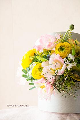卒業祝いのお花@関東へ発送