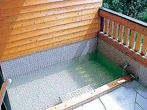 ロッジ村の部屋付露天温泉