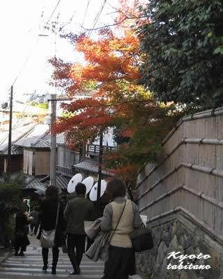 2年阪の紅葉