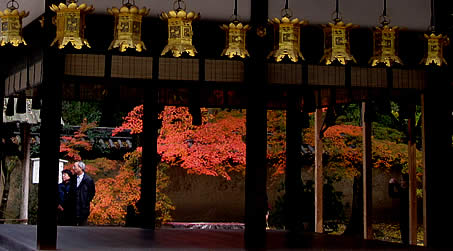 河合神社 紅葉