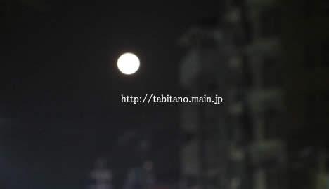 満月の京都