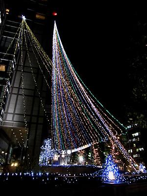 京都のクリスマスツリー