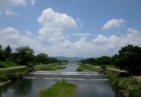 初夏 賀茂川