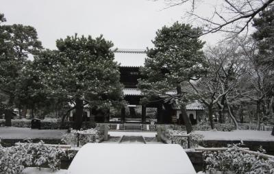 建仁寺 雪